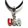 Pendentif USA Couleur Country Western