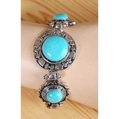 Bracelet Turquoise Trio Shuffle Country Western