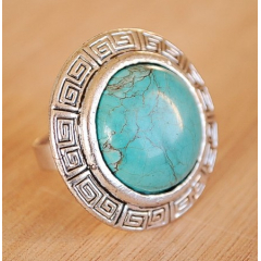 Bague Turquoise 17 Country Western