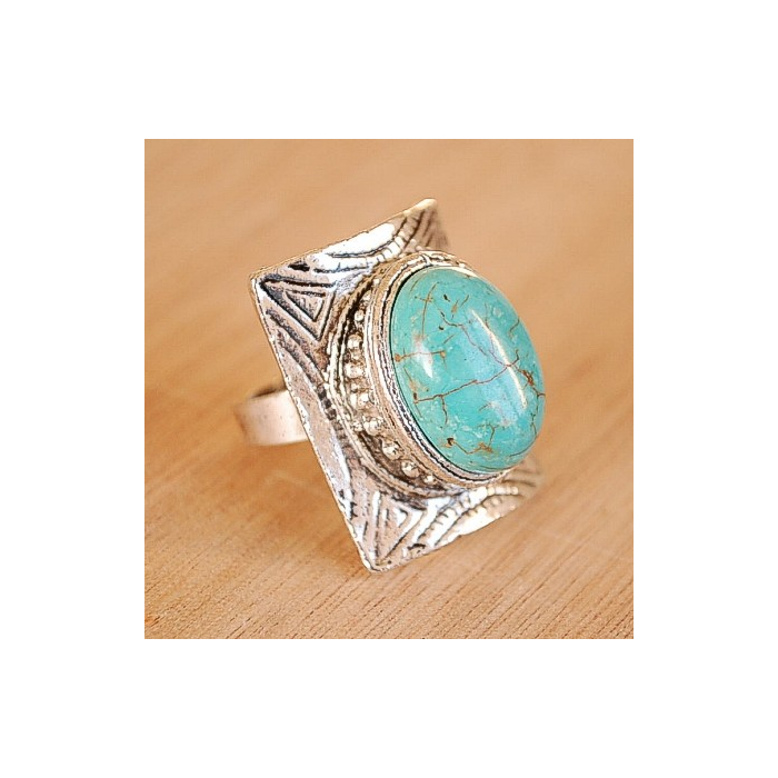 Bague Turquoise 19 Country Western