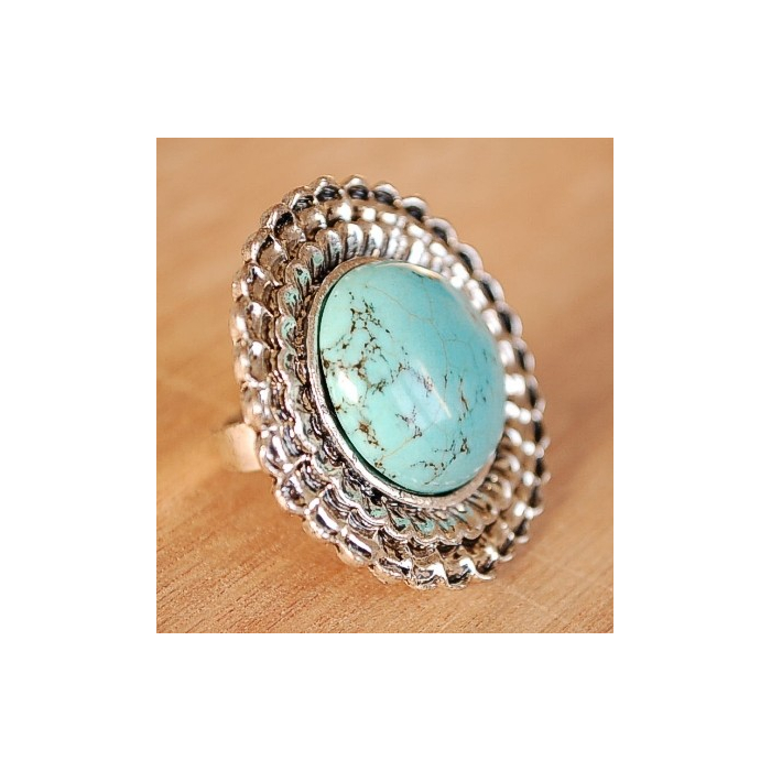 Bague Turquoise 22 Country Western