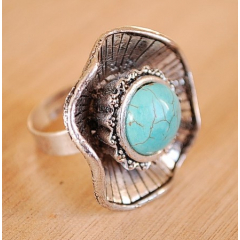 Bague Turquoise 23 Country Western