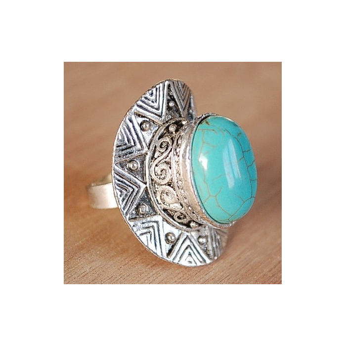Bague Turquoise 24 Country Western
