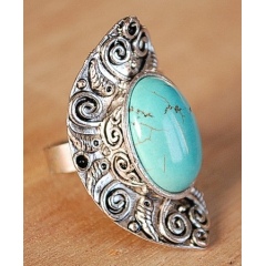 Bague Turquoise 29 Country Western
