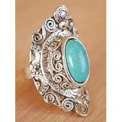 Bague Turquoise 18 Country Western