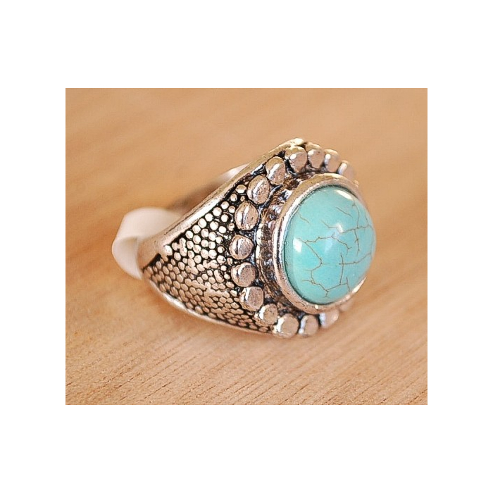 Bague Turquoise G Country Western
