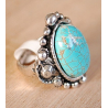 Bague Turquoise J Country Western