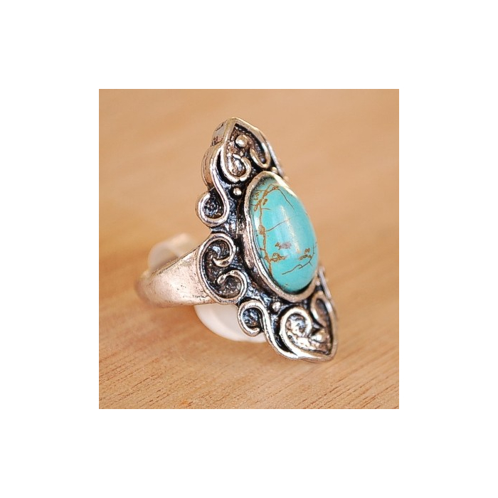 Bague Turquoise I Country Western