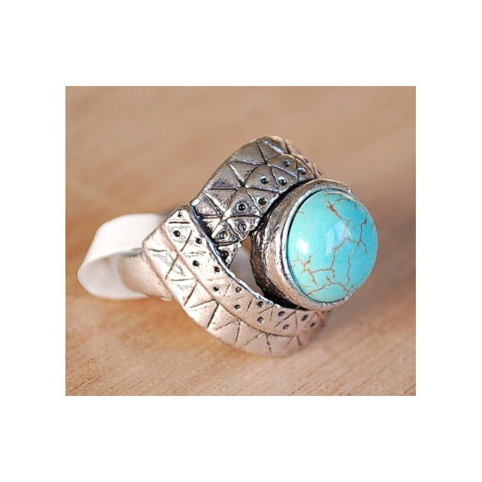 Bague Turquoise K Country Western