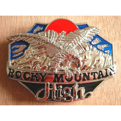Boucle de Ceinture Aigle Rocky Mountain Country Western