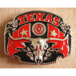 Boucle de Ceinture Buffle Texas Country Western