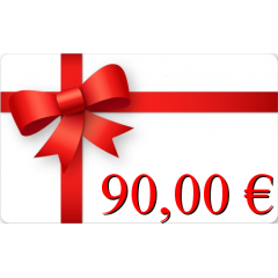 Carte cadeau 90€
