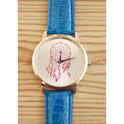 Montre Bracelet Bleu Attrape Rêve - Country Western Cowboy