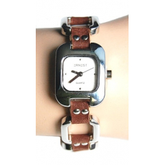 Montre Bracelet Rivet Marron - Country Western