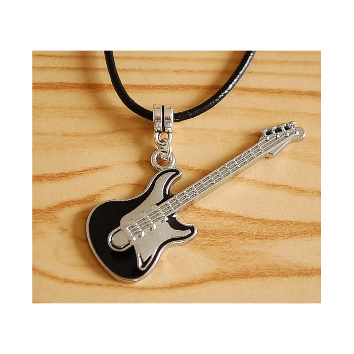 Pendentif Guitare Musique Country Western