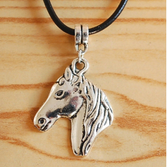 Pendentif Tête Cheval Country Western