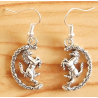 Boucle d'oreilles Cheval Pivotant Country Western