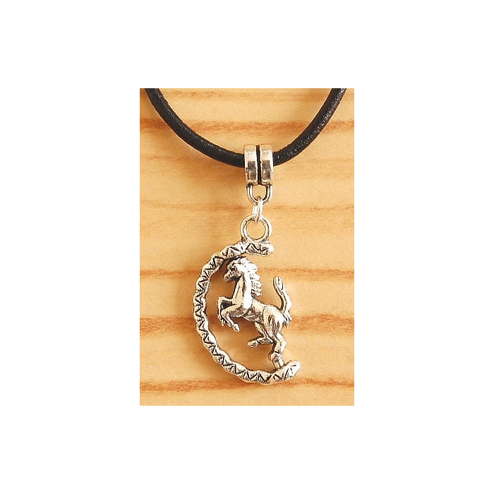 Pendentif Cheval Pivotant Country Western