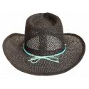 Tour de Chapeaux Cowboy Bourdalou Bande Strass Country Western