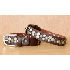 Tour de Botte Marron Clous Country Western Cowboy