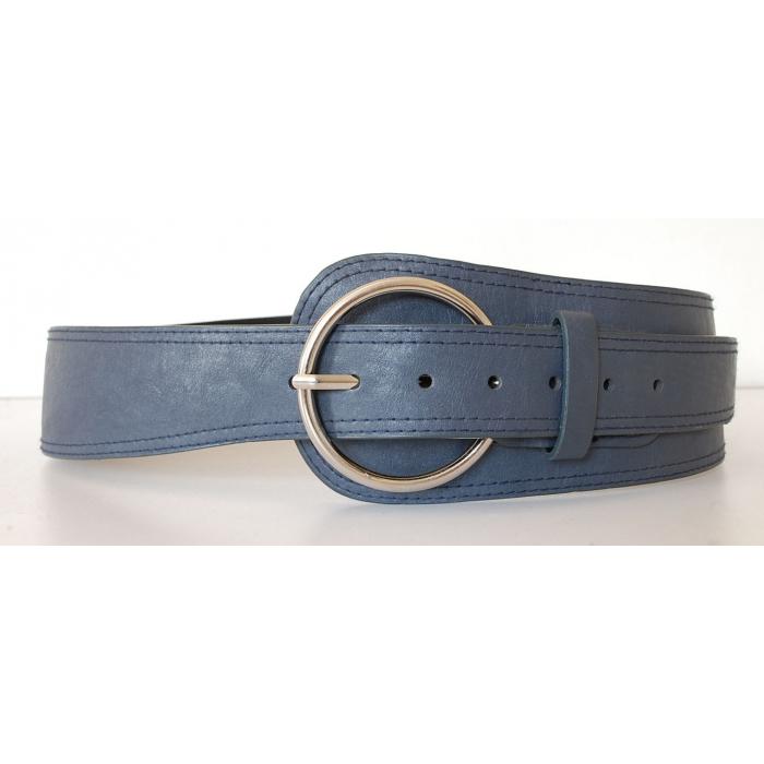 ceinture femme asym trique grande taille bleu. Black Bedroom Furniture Sets. Home Design Ideas