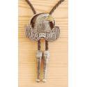 Bolo Tie Aigle King Of The Road Country Western Cowboy