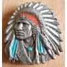 Boucle de Ceinture Chef Indien Country Western Cowboy