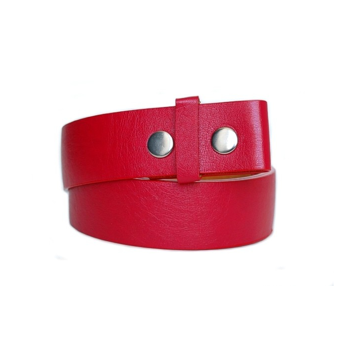 Ceinture a pression - Rouge Country Western