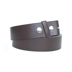 Ceinture a pression - Marron Country Western