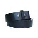 Ceinture a pression - Noir Country Western