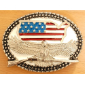 Boucle de Ceinture Aigle USA Winchester Country Western