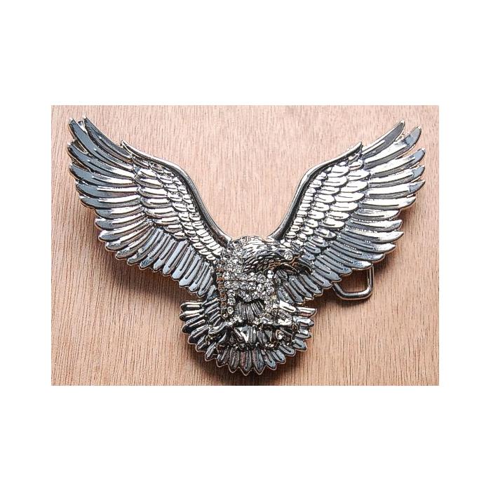 Boucle de Ceinture Aigle Strass Country Western