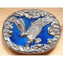 Boucle de Ceinture Aigle Bleu Country Western