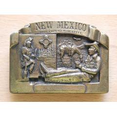 Boucle de Ceinture New Mexico Country Western