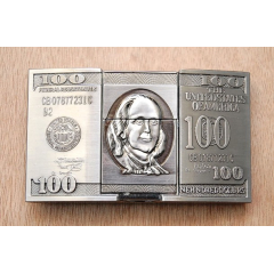 Boucle de Ceinture Briquet Dollar Country Western