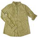 Chemise Aspect Daim - Coupe Confort - Beige - Country Western