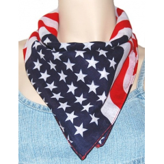 Bandana Drapeau USA Stylisé Country Western