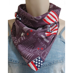 Bandana USA Violet Country Western