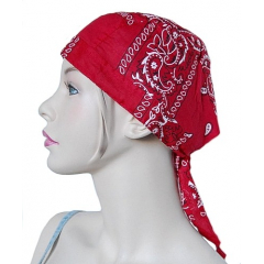 Bandana a Nouer Biker Rouge Country Western