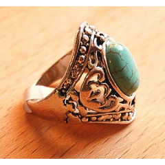 Bague Turquoise A Country Western
