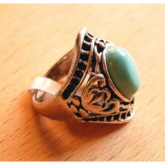 Bague Turquoise B Country Western