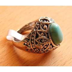 Bague Turquoise E Country Western