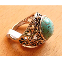 Bague Turquoise G Country...