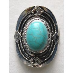 Bague Turquoise 10 Country Western