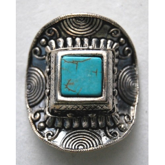 Bague Turquoise 13 Country Western