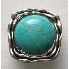Bague Turquoise 14 Country...