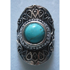 Bague Turquoise 3 Country Western