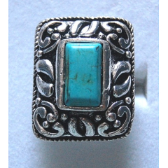 Bague Turquoise 5 Country Western