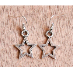 Boucle d'oreilles Etoile Star Country Western