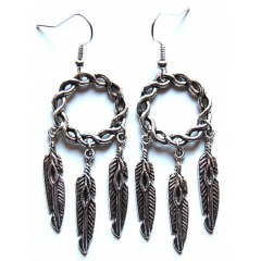 Boucles d'oreilles Dreamcatcher Country Western